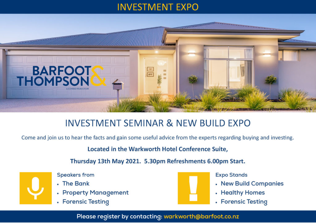 Barfoot & Thompson property investment expo